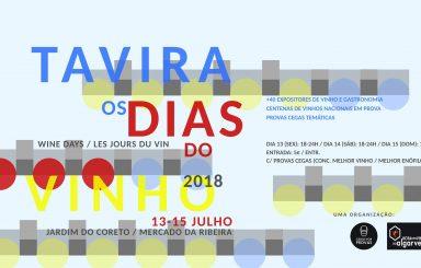 Tavira, Os dias do Vinho – 2018