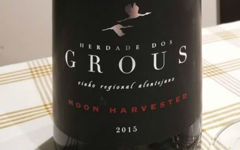 """Herdade dos Grous """"Moon Harvested"""" Tinto 2015"""
