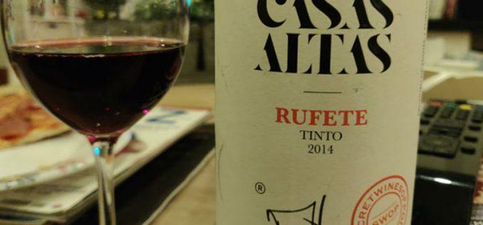 Casas Altas Rufete tinto 2014