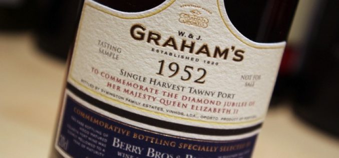 Graham's Porto 1952 Diamond Jubilee