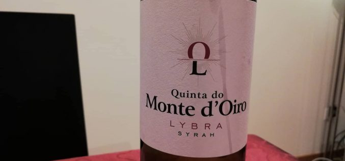 Qta Monte d'Oiro Lybra Syrah 2014
