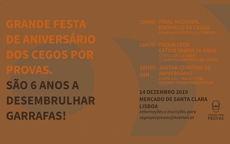 Grande Aniversário dos Cegos por Provas – Lisboa 14.Dez. Mercado Sta. Clara.
